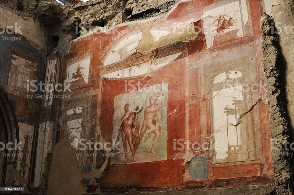 Herculaneum - Italy stock photo