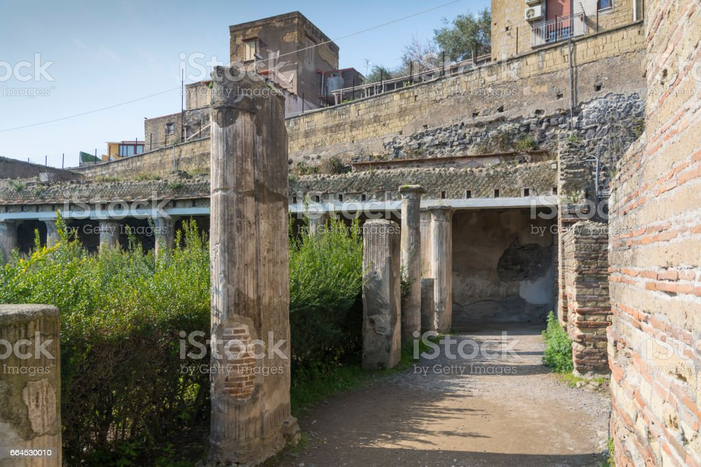 Ercolano royalty-free stock photo