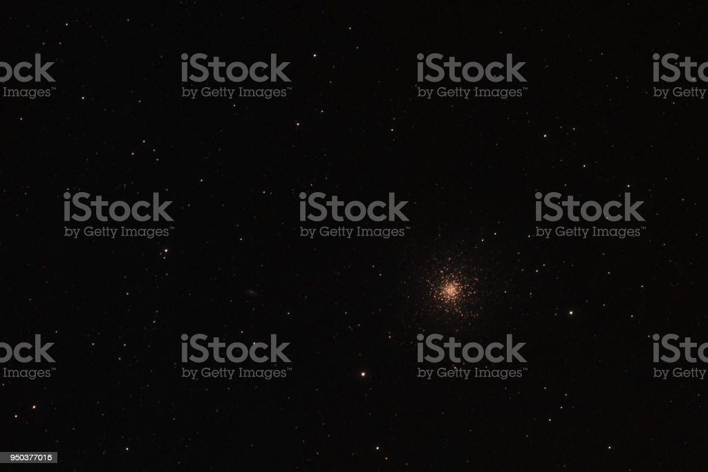 Hercules Globular Cluster stock photo