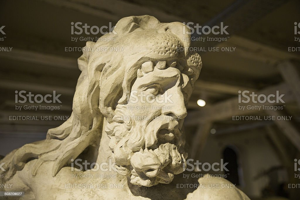 Hercules in Lapidarium of Kings, Copenhagen, Denmark stock photo