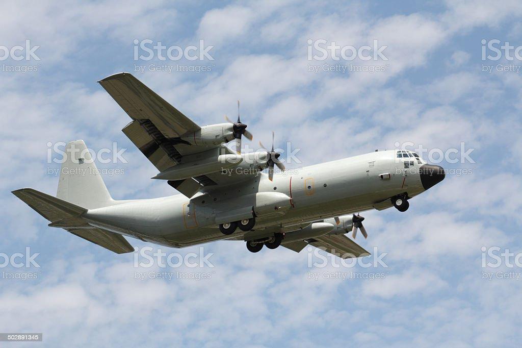 C-130H-30 Hercules C-130H-30  Hurcules : The military transport airplane Air Force Stock Photo
