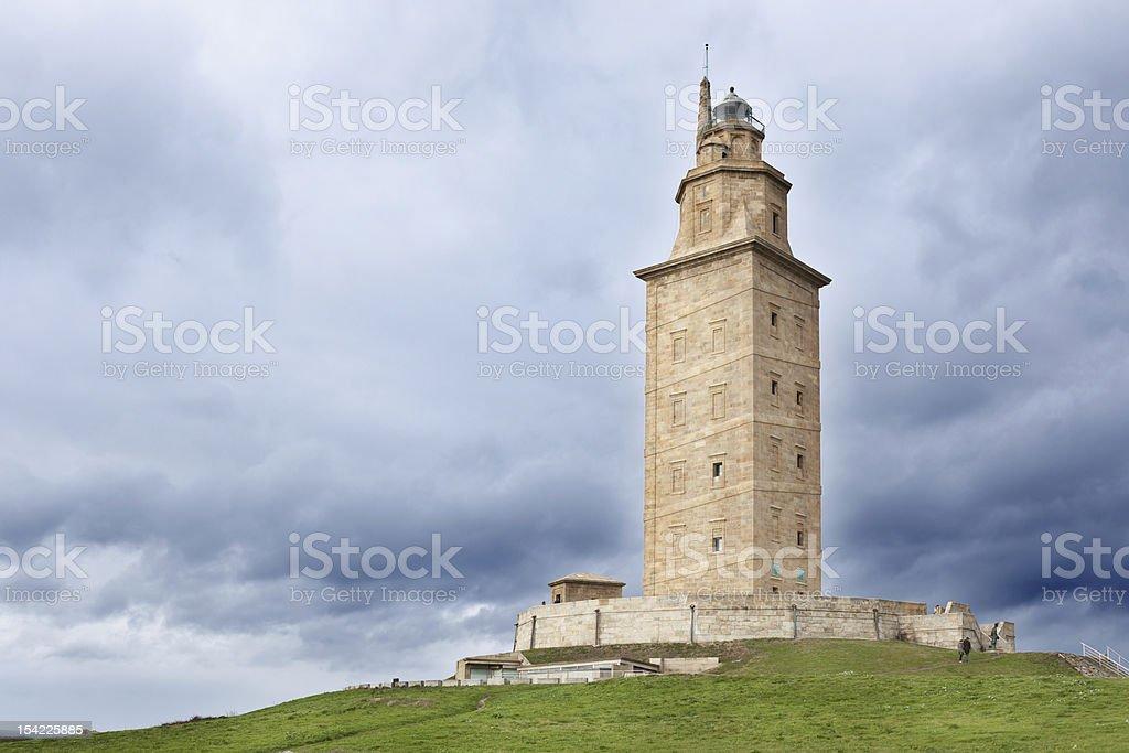 Hercules Tower stock photo