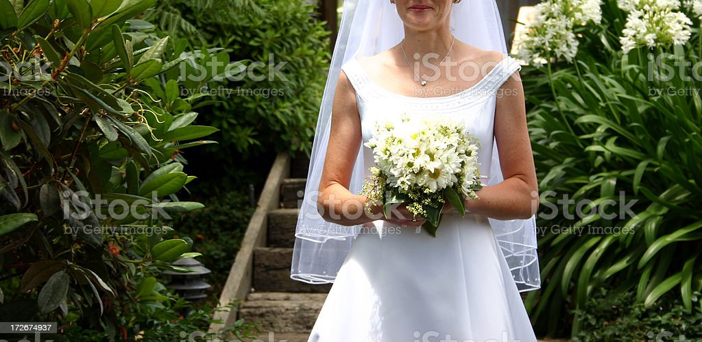 Here comes the Bride royalty-free stock photo