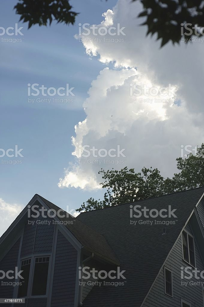 Here comes the Sun royalty-free stock photo