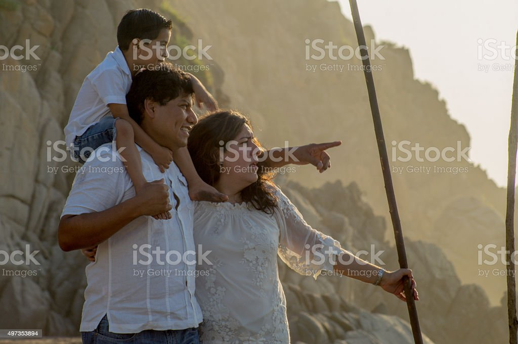 Here comes the sun. What matters to you. stock photo