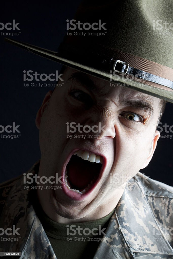 Here Comes Trouble! royalty-free stock photo