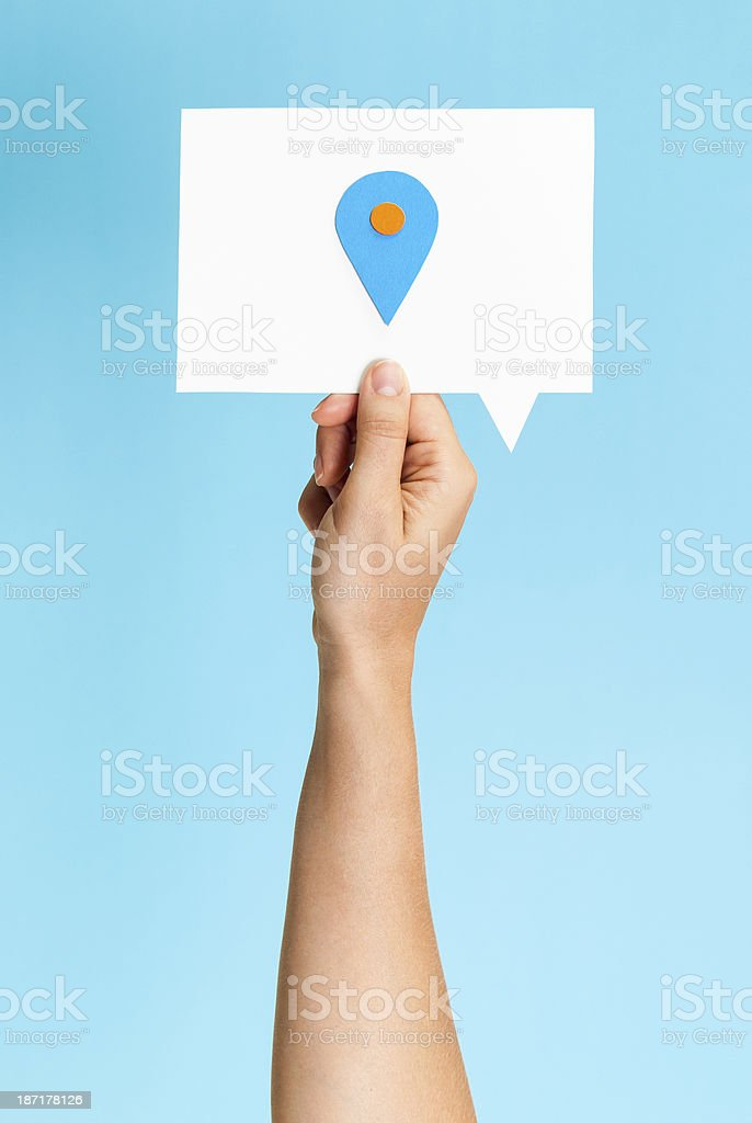Here concept royalty-free stock photo
