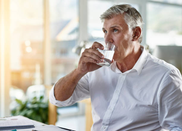 here i go, hope it works - drinking water stock photos and pictures