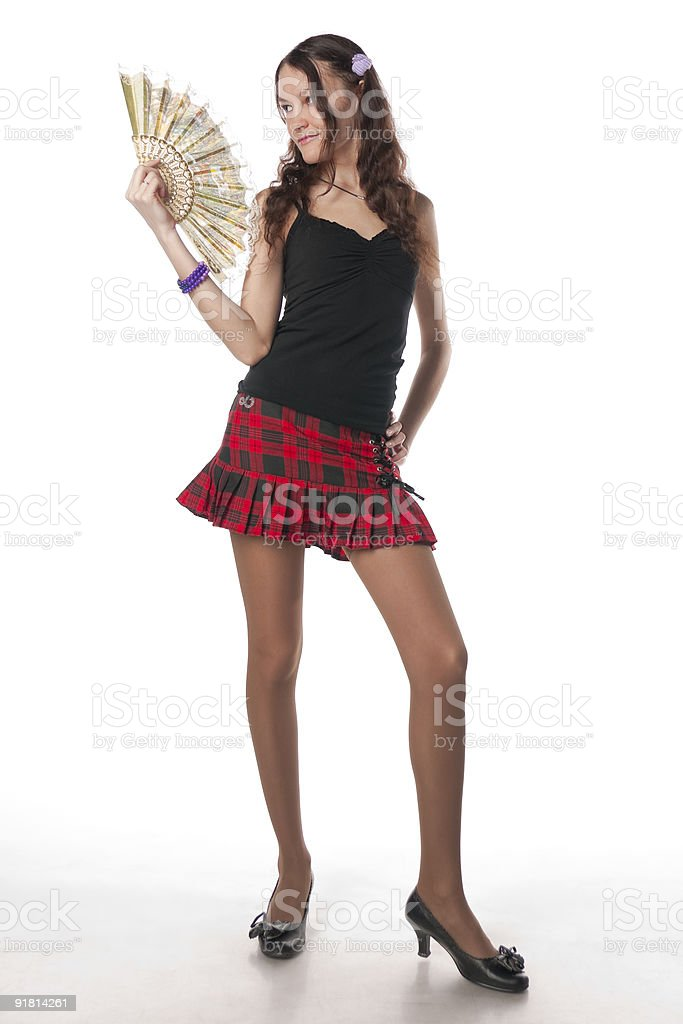 Here Is A Little Hot royalty-free stock photo