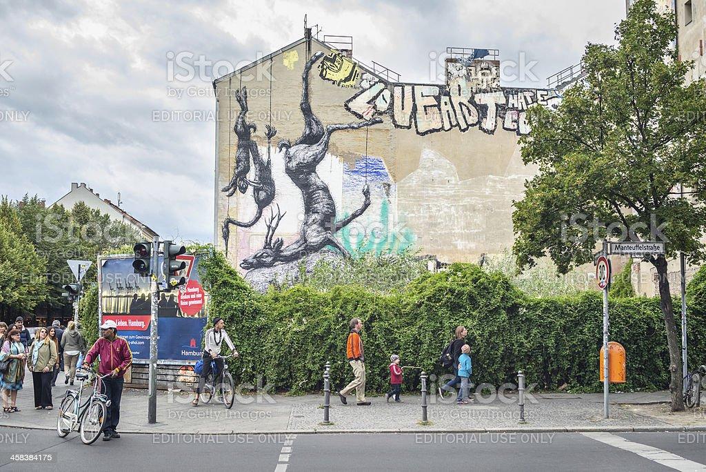 Here is Kreuzberg! stock photo