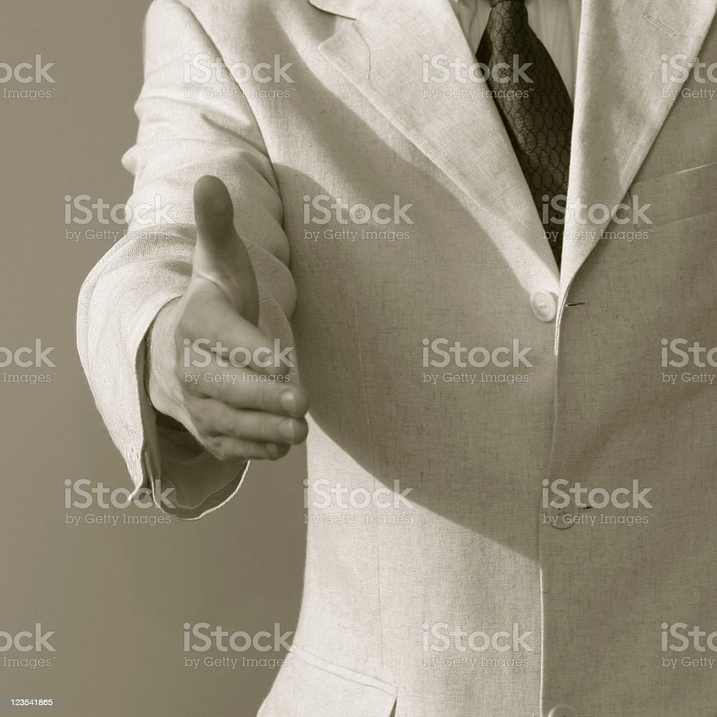 Here is my hand royalty-free stock photo