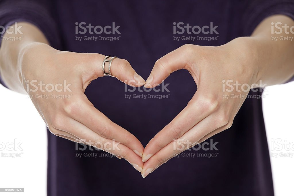 Here is my Heart stock photo