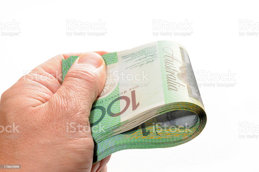 Here is the money royalty-free stock photo