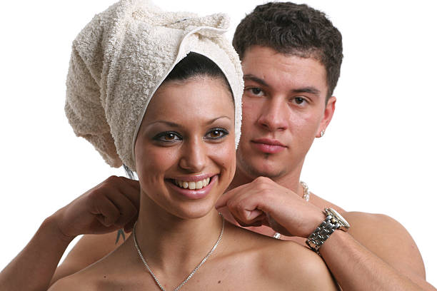 Young Nudist Couples Stock Photos, Pictures & Royalty-Free
