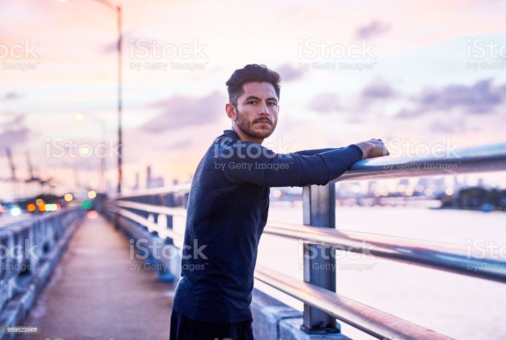 Here to achieve the best and nothing less stock photo