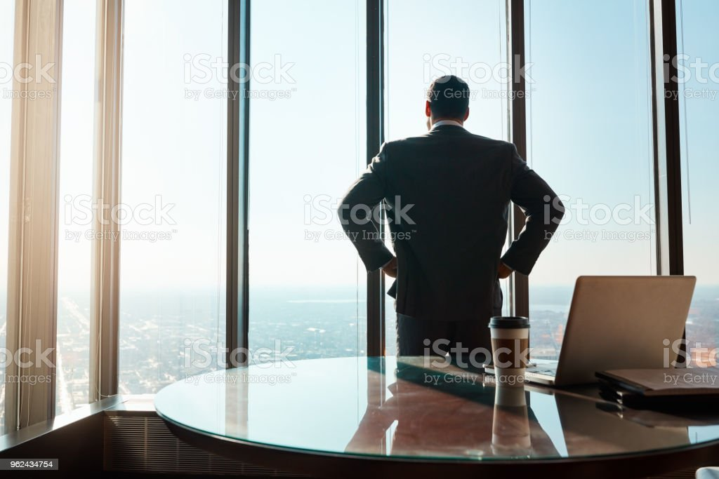 Here to dominate in the business game stock photo