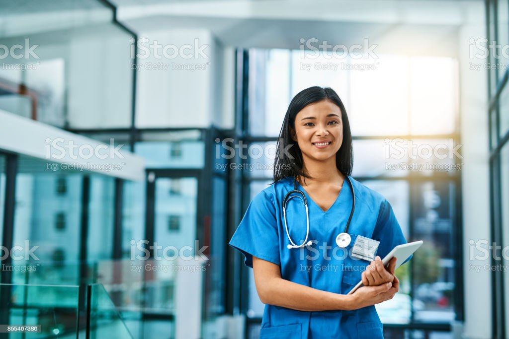 Here to offer guidance to all your health concerns stock photo