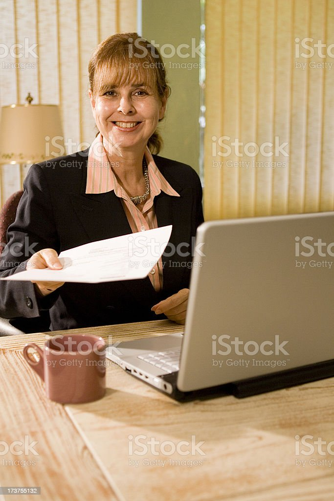 Here You Go stock photo