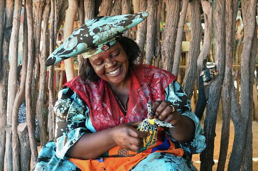 istock Herero Woman, Namibia 655548798