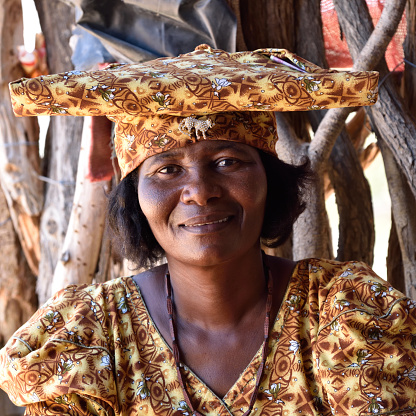 istock Herero Woman, Namibia 655560530