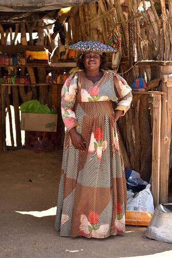 istock Herero Woman, Namibia 655560534