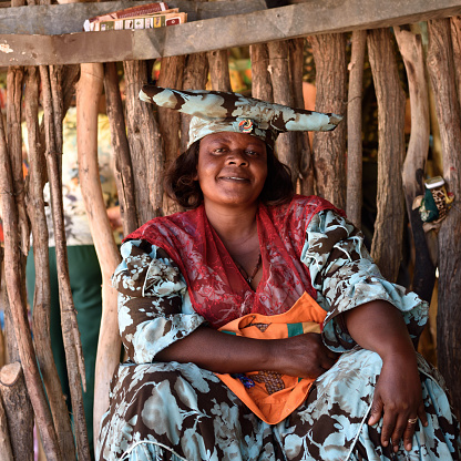istock Herero Woman, Namibia 655560544