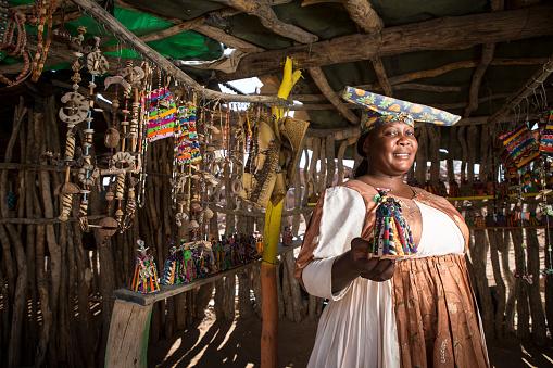 istock Herero Woman. 512348808