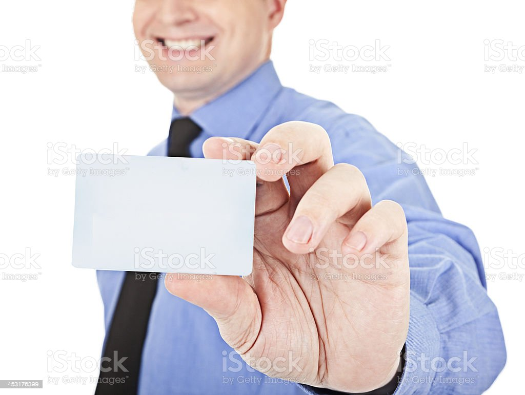 Here's a card royalty-free stock photo