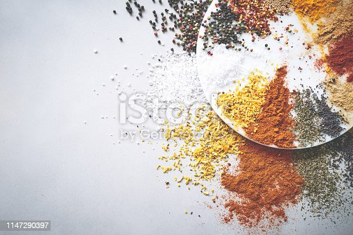 Shot of an assortment of spices