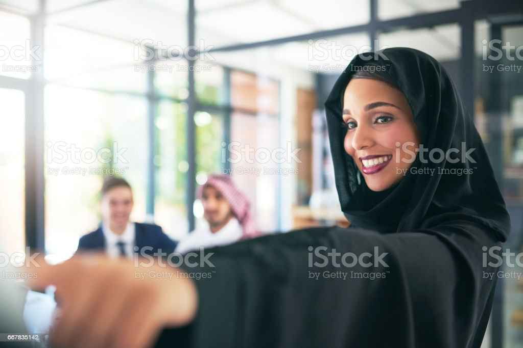 Here's our target and here's how we're getting there stock photo