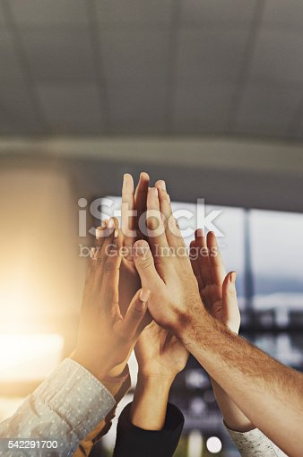 istock Here's to a job well done! 542291700