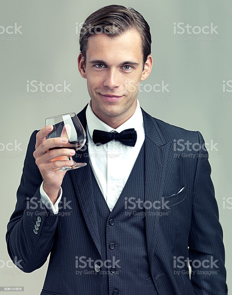 Here's to frivolity stock photo