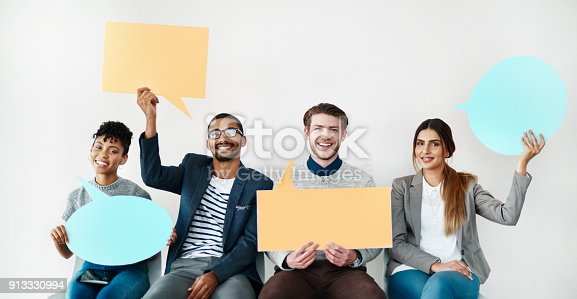 855443864 istock photo Here's what we have to say 913330994