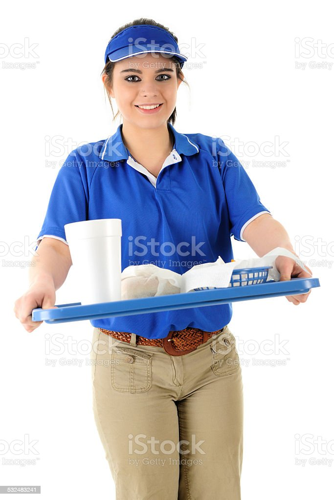 Here's Your Order stock photo