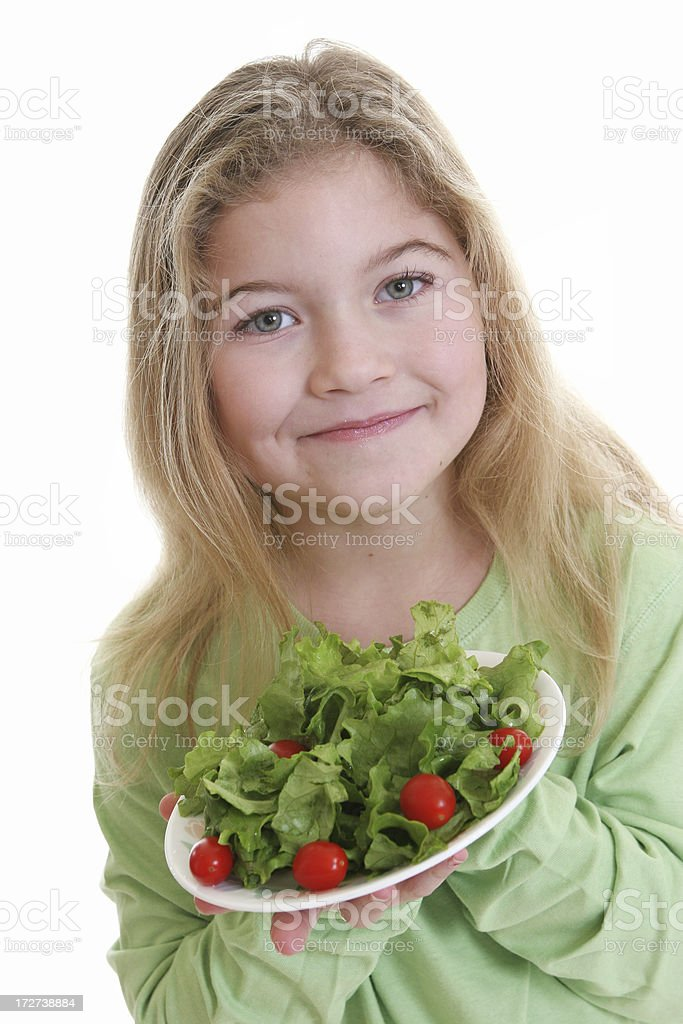 Here's your salad royalty-free stock photo