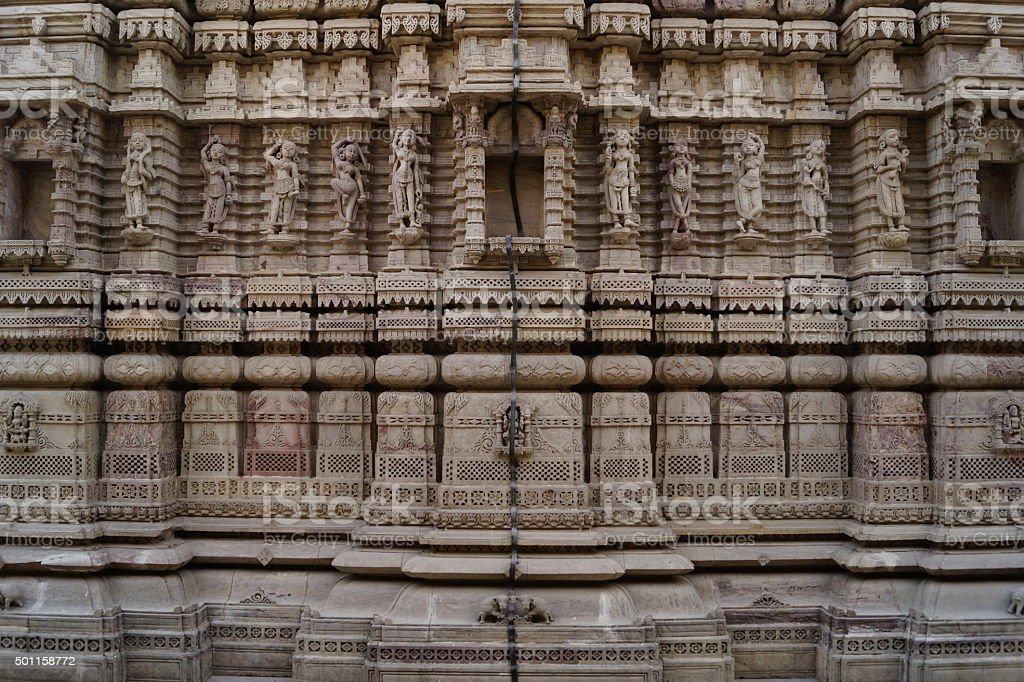 Heritage Architecture in India stock photo