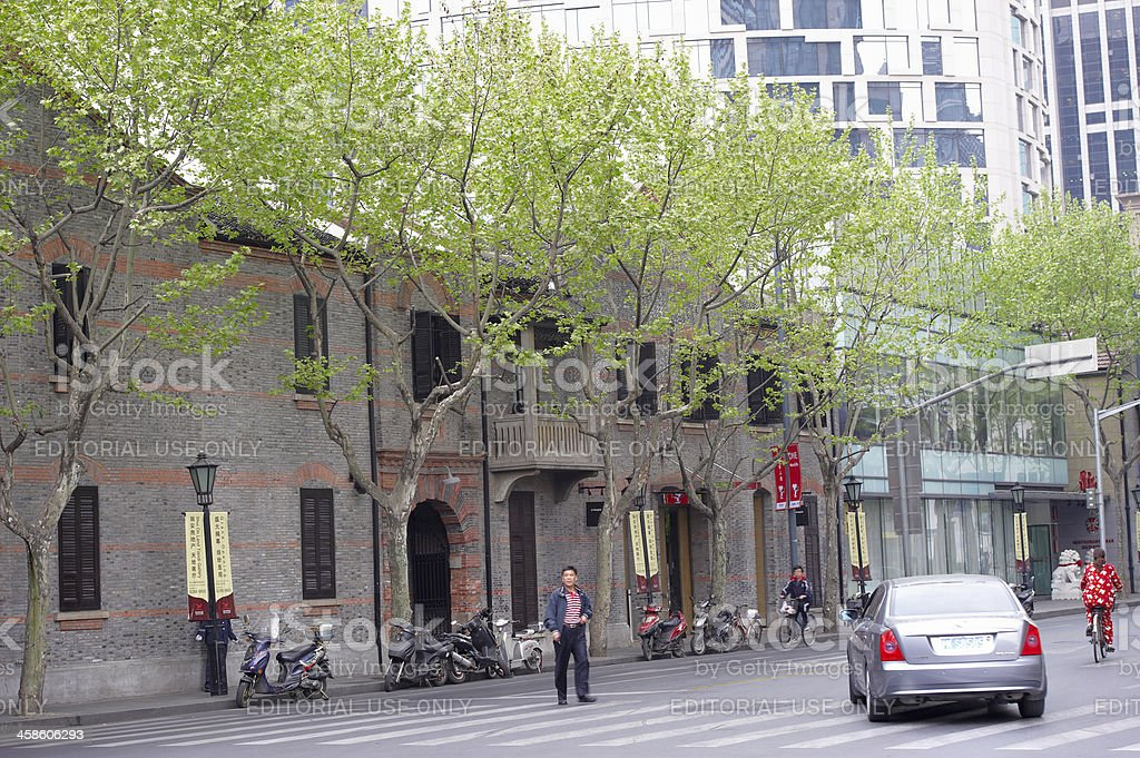 Heritage Architecture in Shanghai royalty-free stock photo