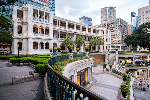 1881 Heritage Hotel In Hong Kong Stock Photo - Download Image Now