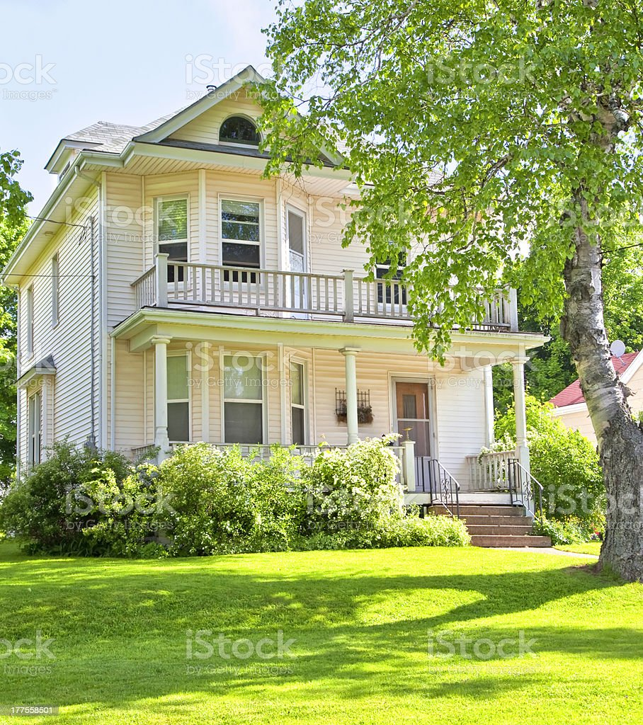 Heritage North American Home stock photo