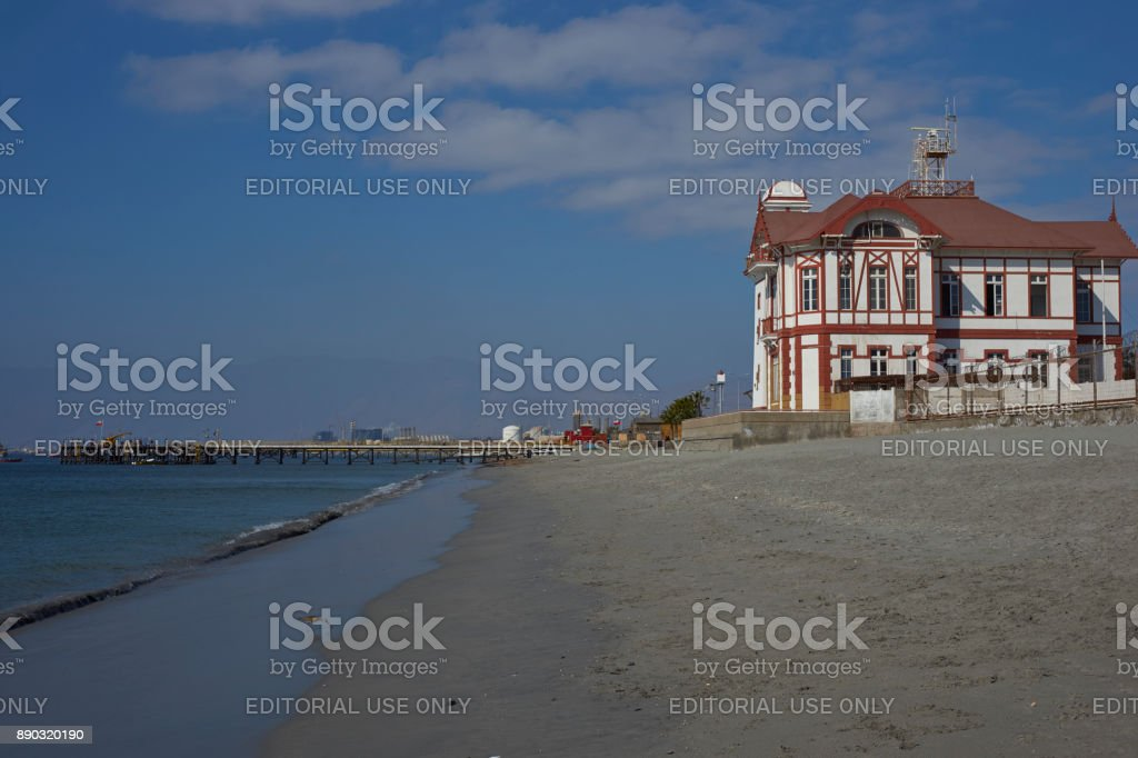 Heritage of Mejillones, Chile stock photo