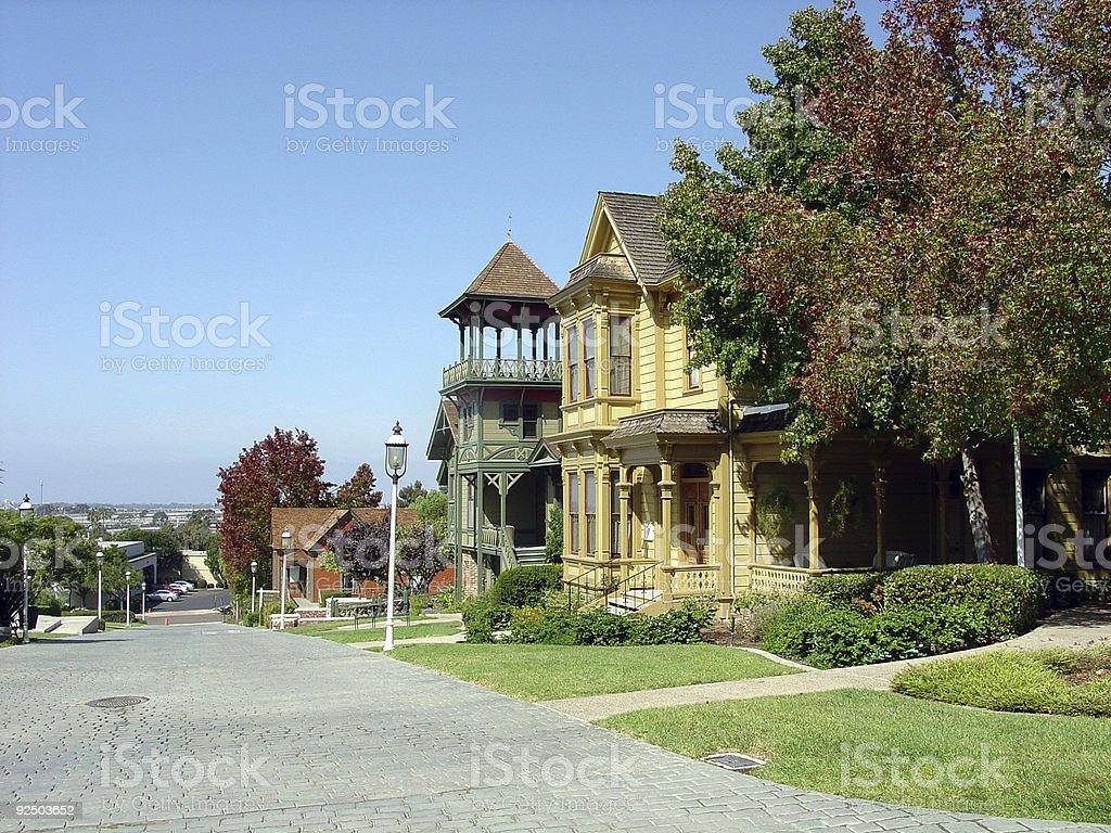 Heritage Village royalty-free stock photo