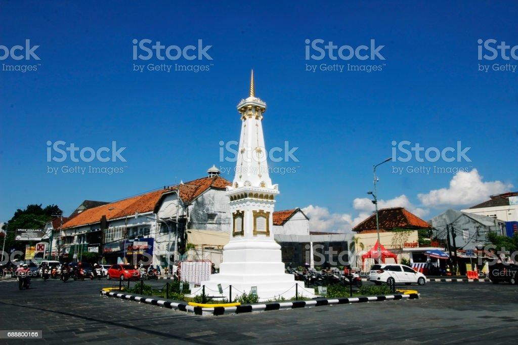 heritage yogyakarta, java, indonesia stock photo