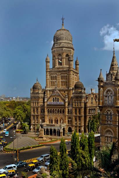 Heritage-Mumbai Myunisipalty Building-from VT-now CST-Mumbai Maharashtra