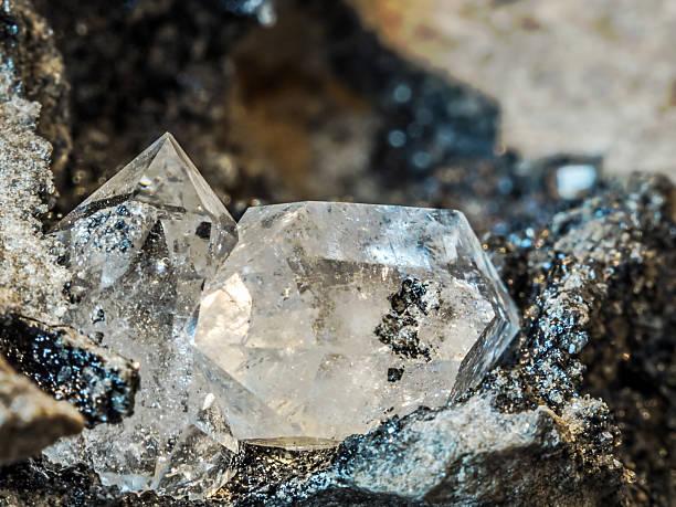 Herkimer Diamond stock photo