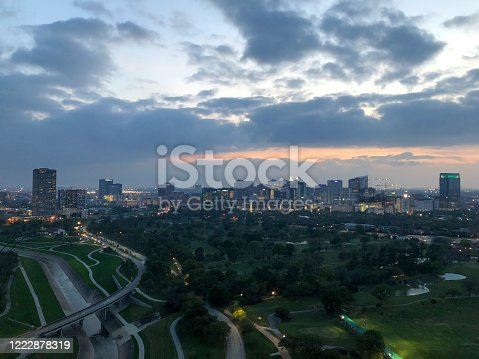 Hermann Park Golf Course, Houston, Texas - medical district in Houston
