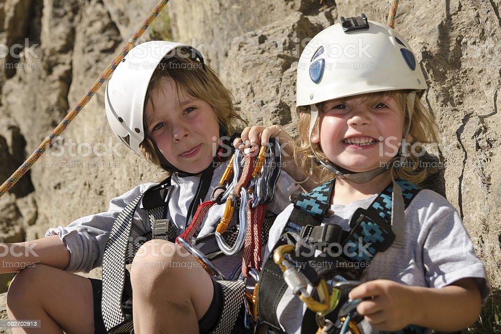 Hermanos Escaladores stock photo