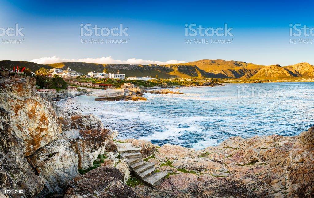 Hermanus South Africa stock photo