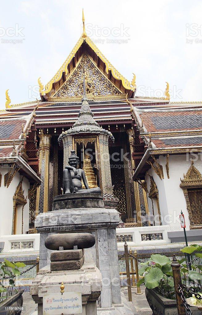 Hermit Doctor Wat Phra Kaew Bangkok royalty-free stock photo
