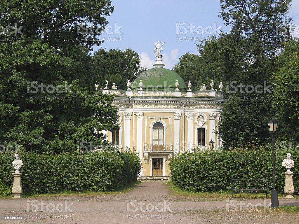 Hermitage Pavilion at the museum-estate Kuskovo, Russia. royalty-free stock photo