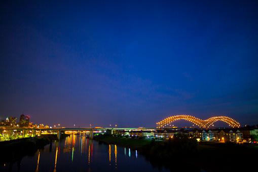 Hernando de Soto Interstate 40 Bridge in Memphis, TN